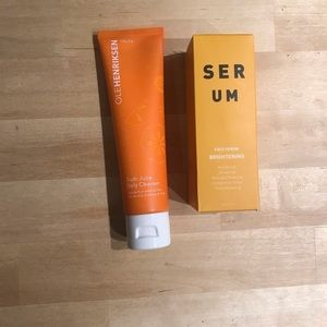 Cleanser and Face Serum